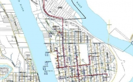 map-of-downtown-quesnel-with-pipe-layout-fortis